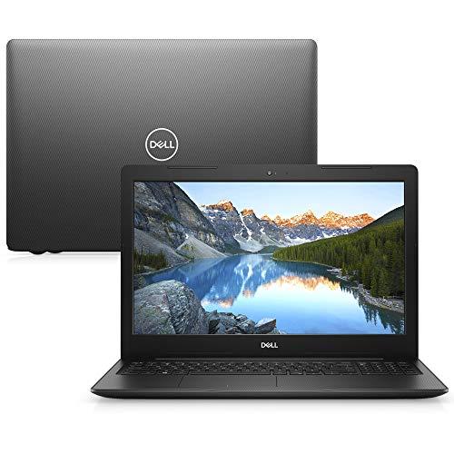 """Notebook Dell Inspiron i15-3583-M3XBP Core i5 8GB 1TB Windows 10 Preto 15.6"""" + Mochila Pro"""