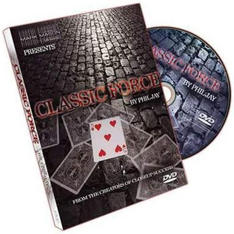 SOLOMAGIA Classic Force by Phil Jay and JB Magic - DVD - DVD and Didactis - Trucos Magia y la Magia - Magic Tricks and Props: Amazon.es: Juguetes y juegos