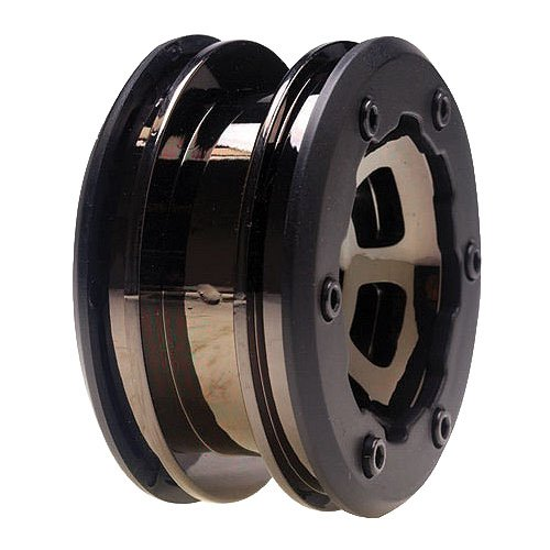 Losi Wheels Black Chrome Mini Rock Crawler (2) LOSB1471