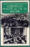 European Political Facts, Chris Cook, 0871963760