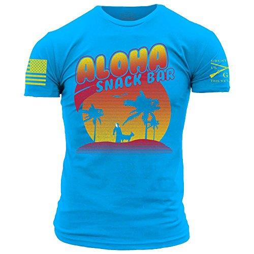 Grunt Style Aloha Snackbar 2.0 Men's T-Shirt for cheap
