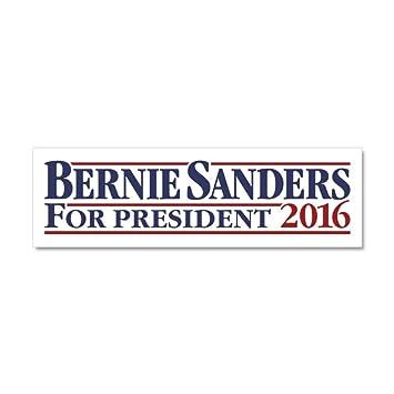 amazon com cafepress bernie sanders for president car magnet 10 x