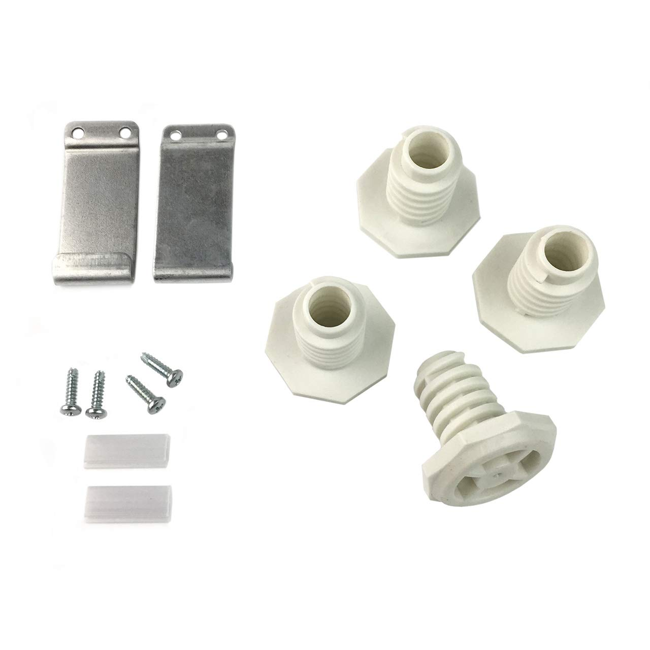 Ximoon W10869845 Stack Kit for Whirlpool Standard and Long Vent Dryer W10298318RP 1862761, 52774, AH3407625