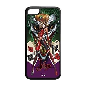 Customize Your Own Design Apple iphone5C Back Case Joker Harley Quinn JN5C-1386