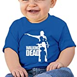 XJBD Babys Boy's & Girl's Walking Dead Best Shirts Size 12 Months RoyalBlue