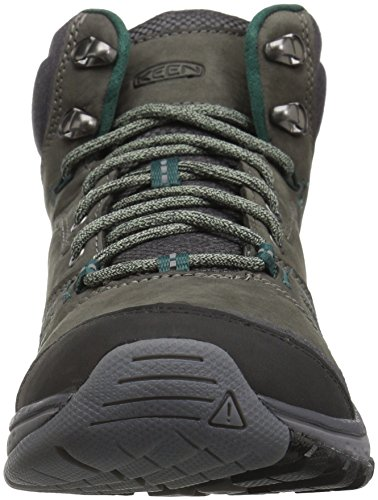 KEEN Womens Terradora Leather Mid WP-w Hiking Shoe Mushroom/Magnet wxX0vO8e