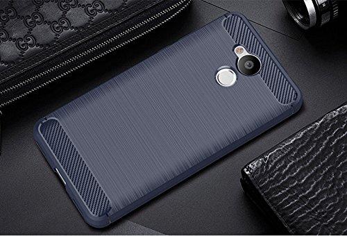 Funda Huawei Honor 6A,Funda Fibra de carbono Alta Calidad Anti-Rasguño y Resistente Huellas Dactilares Totalmente Protectora Caso de Cuero Cover Case Adecuado para el Huawei Honor 6A C