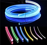 3.28ft PMMA Plastic Optic Fiber Side Glow Cable for Car LED Light Source