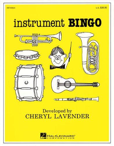 Music Listening Bingo - Instrument Bingo