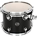 DW-Performance-Series-Mounted-Tom-10×13-Gloss-Black-Finish-Ply