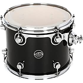 "DW Performance Series Mounted Tom - 10"" x 13"" Gloss Black Finish 1"