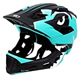 Kids Bike Helmet 3-15 Years, CE Certified Breathable Ultralight Adjustable Cycling Helmet Toddler for Bicycle, Skateboard, Scooter, Rollerblading, Children Protective Gear (20-22 Inches) (5 Colors)