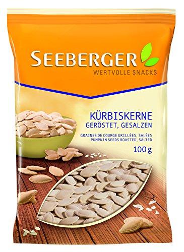 Seeberger Kürbiskerne geröstet, gesalzen, 13er Pack (13 x 100 g)