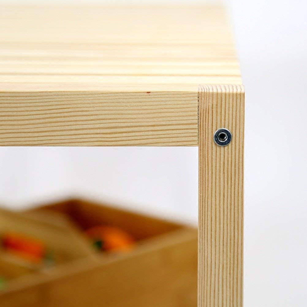 Willesego Regale Nordic Massivholz Doppelregale Schlafzimmer