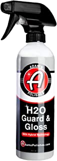 product image for Adam's H2O Guard & Gloss - Revolutionary Hybrid Top Coat Technology Combines Silica Sealant, Polish Wax, and Quick Detailer Technology - Seals, Shines, and Protects All Exterior Surfaces