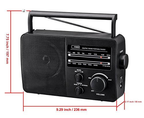 Buy portable radio with best reception