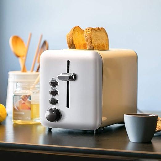 MIAO. 2 Slice Toaster, tostadora de Pan con 7 Variable de Control ...