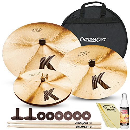 Zildjian K Custom Artist Cymbal Pack with ChromaCast Cymbal