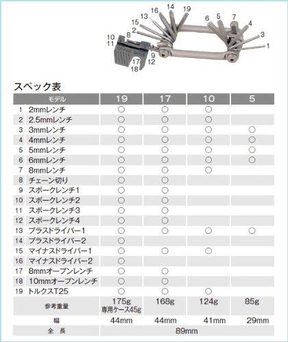 Crankbrothers Multi-Tool M10 Schwarz Gr 10 Werkzeuge