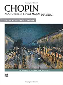 Frederic Chopin Nocturne In G Flat Major Op9 No1 Play Piano SHEET MUSIC BOOK