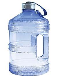 New Wave Enviro Bpa Free Botella de Agua de 1 galón (Redonda)
