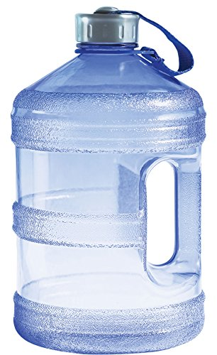 New Wave Enviro BpA Free 1 Gallon Water Bottle (Round) by New Wave