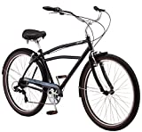 "Schwinn Mens Del Sur Cruiser 27.5"" Wheel Bicycle, Black, One Frame Size"