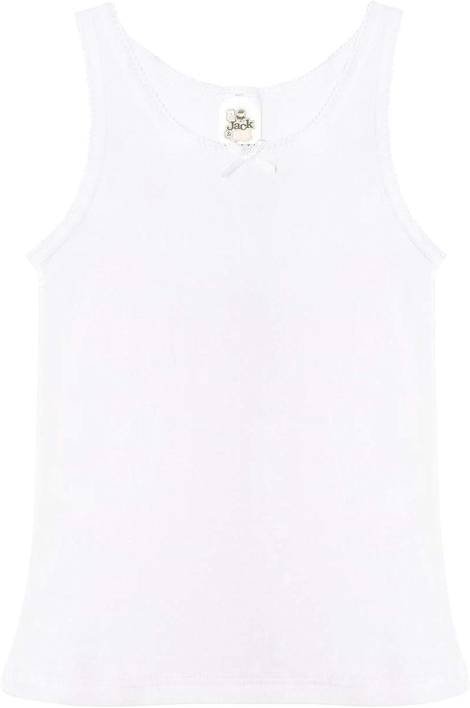 Jack /& Jill Underwear Girls Top Camisole 14, White 3 Pack White