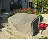 Patio Sofa Cover with Velcro up to 80'' Long