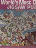 World's Most Difficult Jigsaw Puzzle Skiing Edition