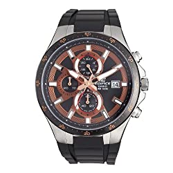 Casio Men's EFR519-1A5V Edifice Active Line Chronograph Analog Watch