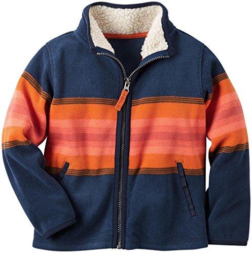 Carter's Boys' Knit Layering 263g628, Stripe, 7