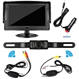 Best Backup Camera For Car SUVs - iStrong Backup Camera Wireless and Monitor Kit Waterproof Review