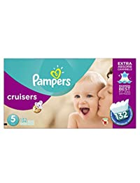Pampers Cruisers Diapers Size 5, 132 Count BOBEBE Online Baby Store From New York to Miami and Los Angeles