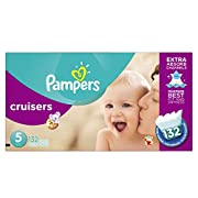Pampers Cruisers Diapers Size 5 132 Count (old version)