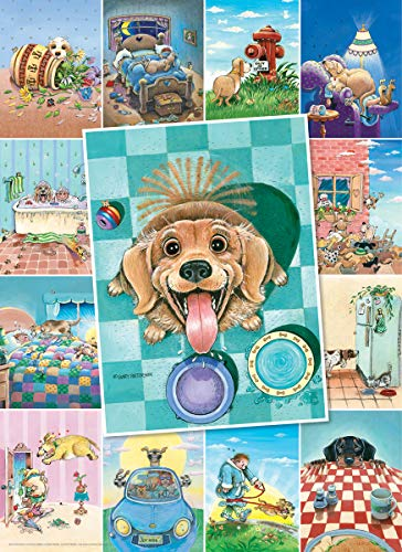 EuroGraphics (EURHR Dog's Life by Gary Patterson 500Piece Puzzle 500Piece Jigsaw Puzzle, 8500-5365