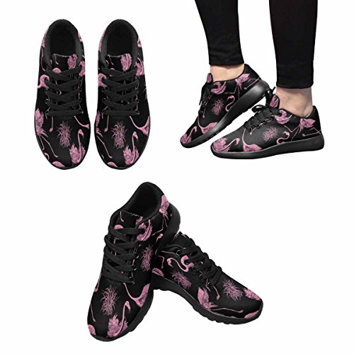 InterestPrint Abstract Birds Background Womens Jogging Running Sneaker Lightweight Go Easy Walking Shoes Multi 1 w7y8j