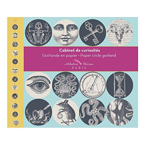 Alibabette Editions Paris Cabinet de Curiosite Paper Circle Garland (GUIR002)