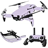 MightySkins Skin For DJI Max Coverage - Solid Lilac | Protective, Durable, and Unique Vinyl Decal wrap cover | Easy To Apply, Remove, and Change Styles | Made in the USA