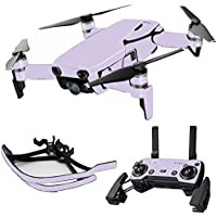 MightySkins Skin for DJI Mavic Air Drone - Solid Lilac | Max Combo Protective, Durable, and Unique Vinyl Decal wrap cover | Easy To Apply, Remove, and Change Styles | Made in the USA