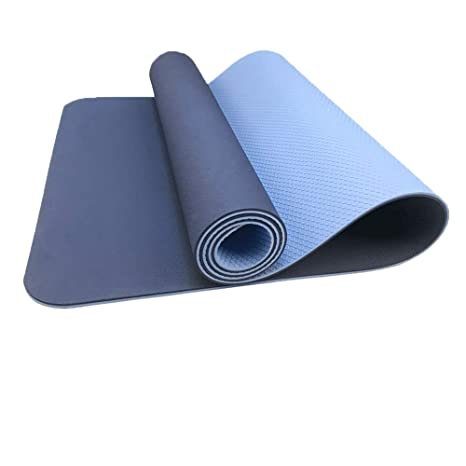 Amazon.com : JADE JOLA Yoga Mat - Double Layer Non-Slip ...