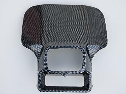 Mashimoto Carbon Look Honda Xr250 Xr350 Xr500 Xr600 Xr 250 350 500 600 Headlight cover shroud [並行輸入品] B077Q3NFTF