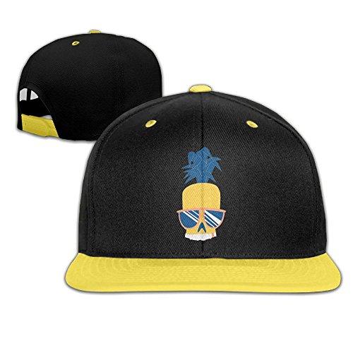 Kids Boy's & Girl's Skull Pineapple Outdoor Hip Hop Jogging Cotton Caps Hats Adjustable - Fanta Girl Costume