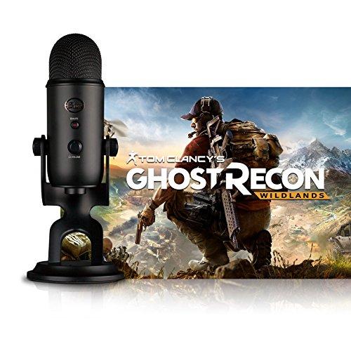 Blue Blackout Yeti + Tom Clancy's Ghost Recon Wildlands PC: Streamer Bundle (0113) (Assassin Recon)