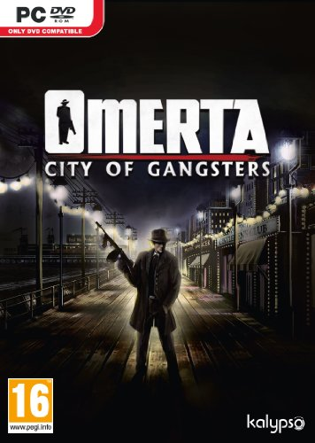 Omerta City Of Gangsters PC DVD Game (Best Gangster Games Pc)