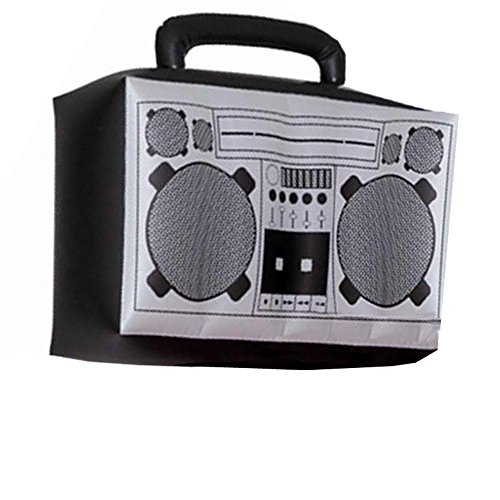 Hip Hop Inflatable Boom Box (80s Halloween Costumes Plastic)