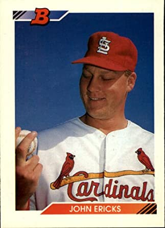 Amazoncom 1992 Bowman Baseball Card 48 John Ericks Collectibles