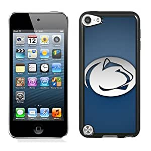 Popular And Durable Designed Case With Ncaa Big Ten Conference Football Penn State Nittany Lions 6 Protective Cell Phone Hardshell Cover Case For iPod Touch 5 Phone Case Black