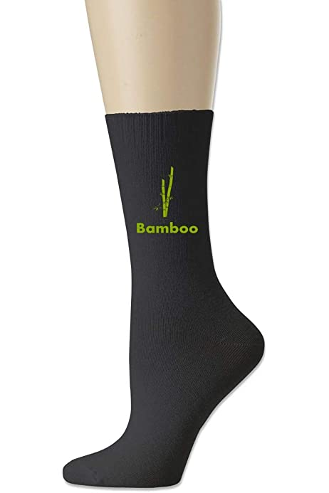Men High Ankle Cotton Crew Socks Green Bamboo Casual Sport Stocking