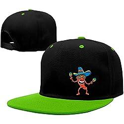 Kooiico Men&women Funny Mexican Tour Caps Adjustable